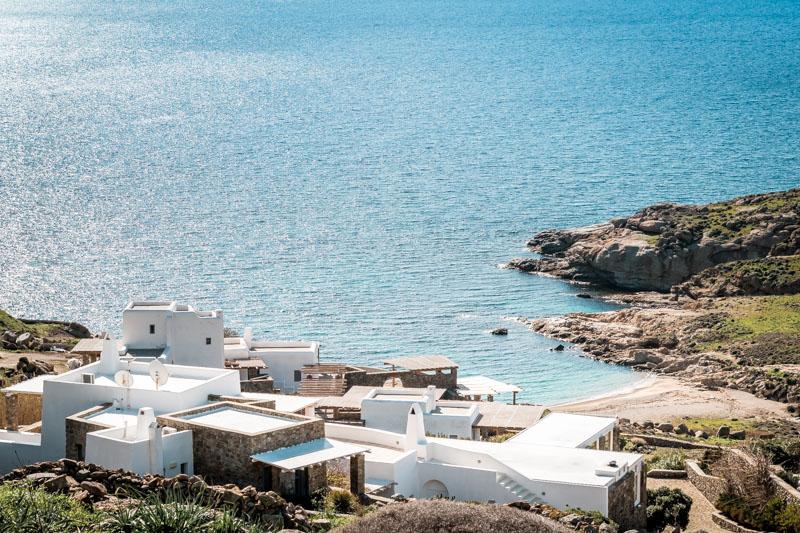 mykonos strände mini lia beach