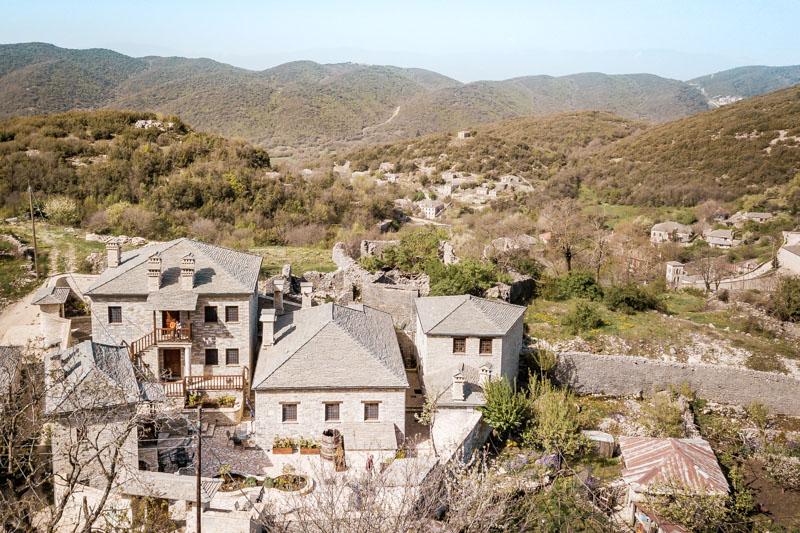 Übernachtung Griechenland Festland Malerische Bergdörfer