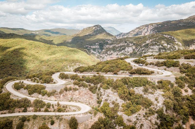 Anreise Griechenland Straßen Epirus