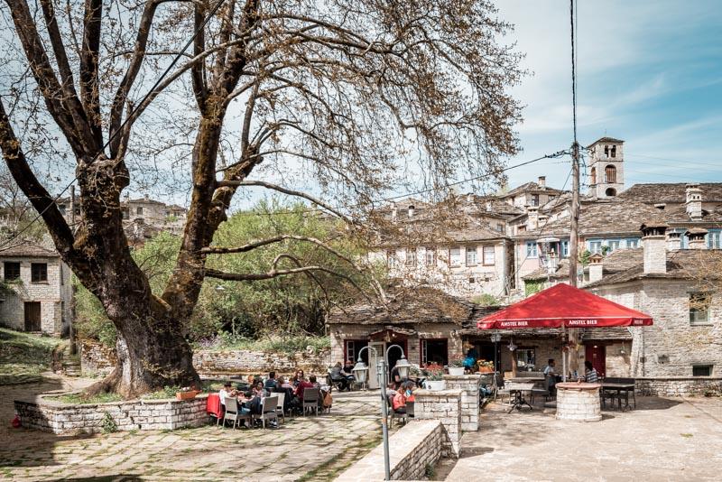 Epirus Doltso Village Zagoria