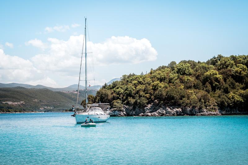 Ionisches Meer Segeln Tour Yacht