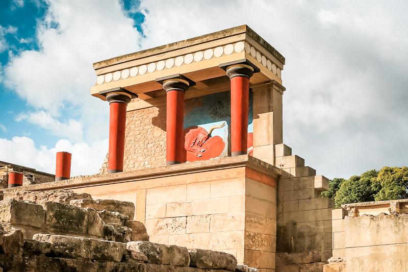 Knossos Palast Kreta Minos Touren