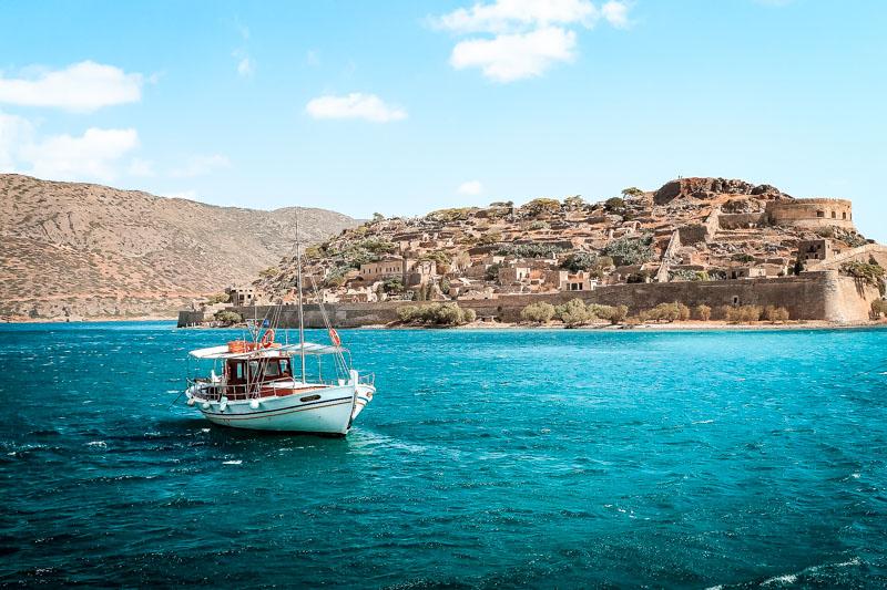 Kreta Ausflüge Spinalonga Insel Bootstour