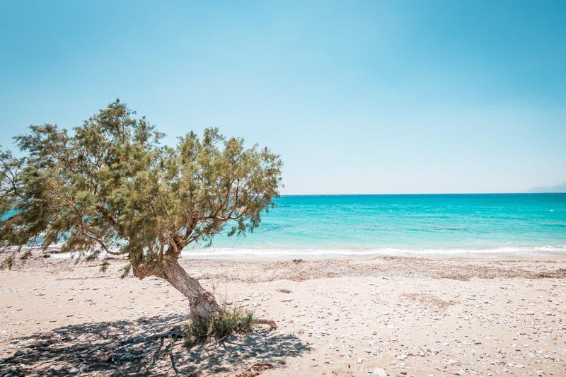 Kreta Einsame Strände Libysche Meer