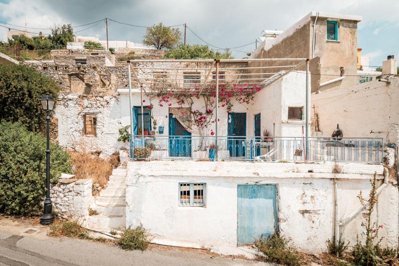 Kreta Weiße Häuser Bergdörfer