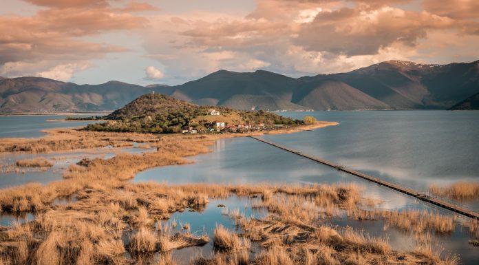 Makedonien Griechenland Prespa See Rundreise
