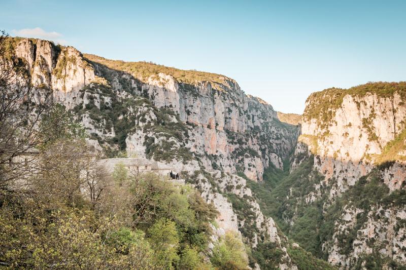 Monodendri Kloster Agia Paraskevi Zagori