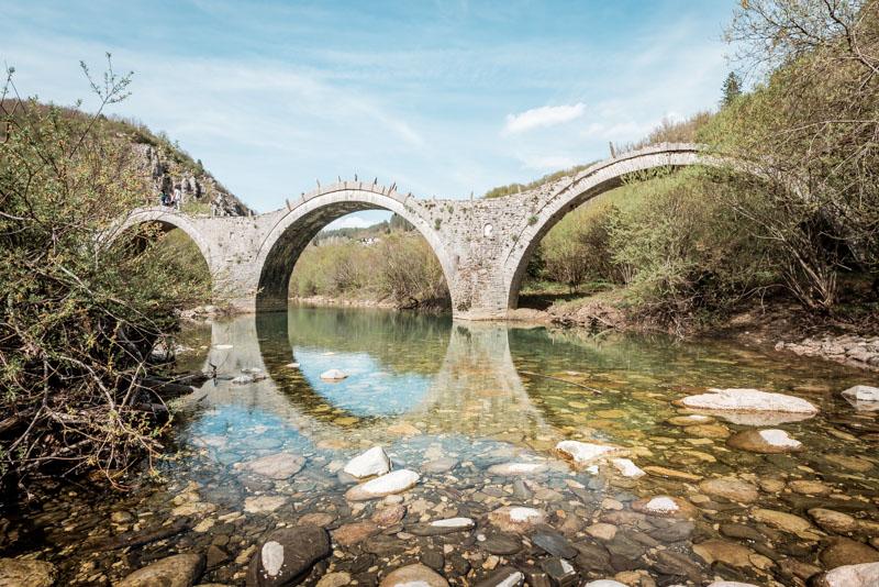 Steinbrücken Epirus Plakidas Griechenland