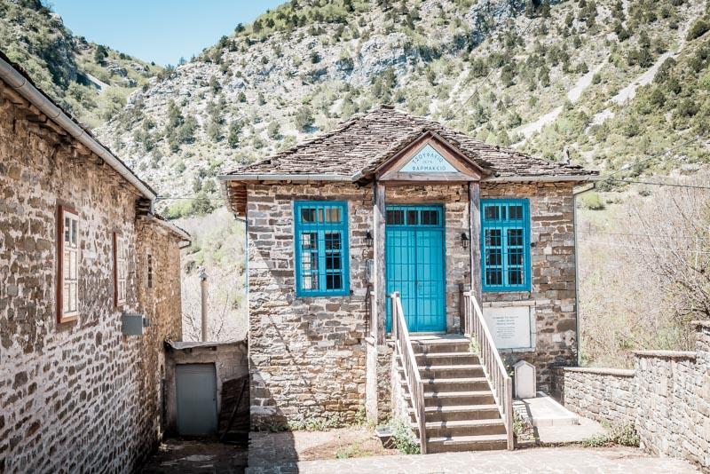Tsepelovo Apotheke Zagori Griechenland