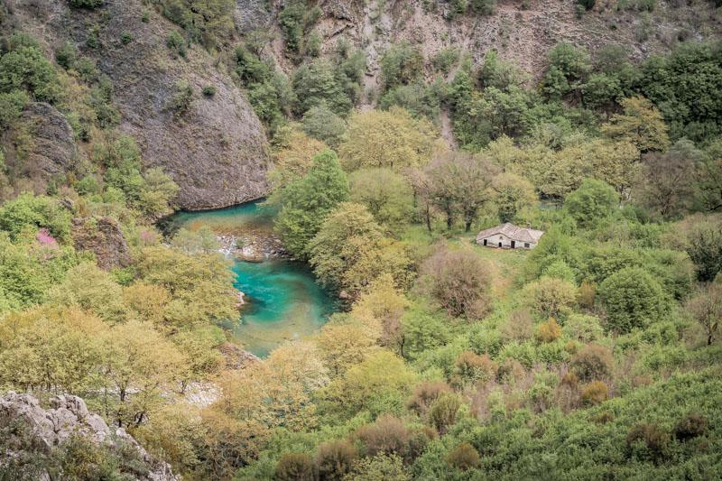 Vikos Zagoria Wanderungen Griechenland