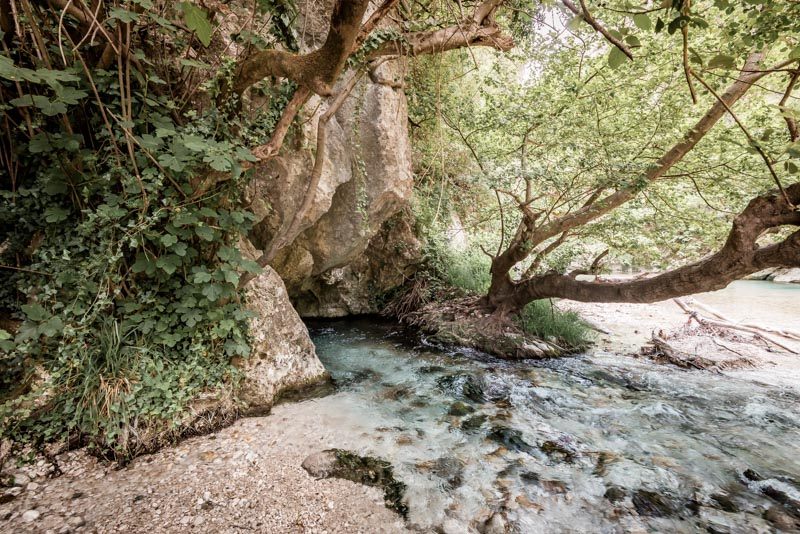 acheron river springs epirus greece