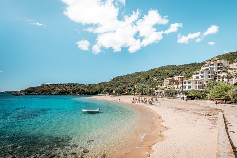 agia paraskevi beach syvota greece