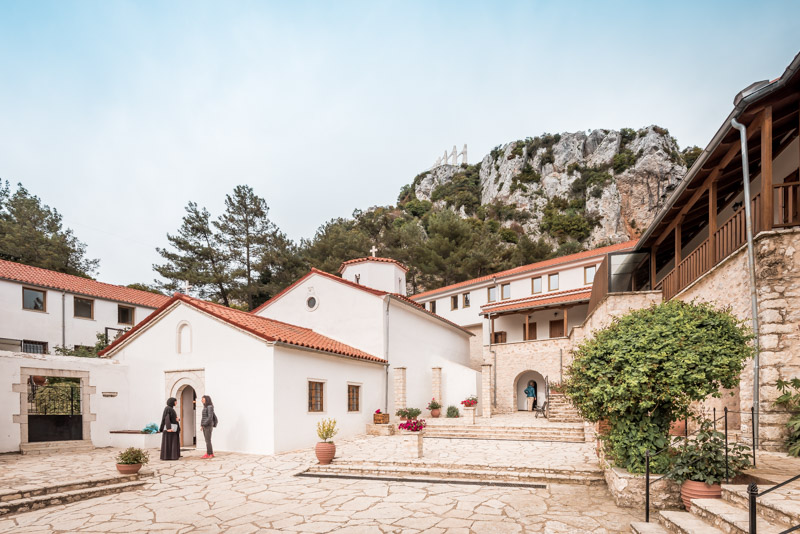agios dimitrios monastery zalongo greece
