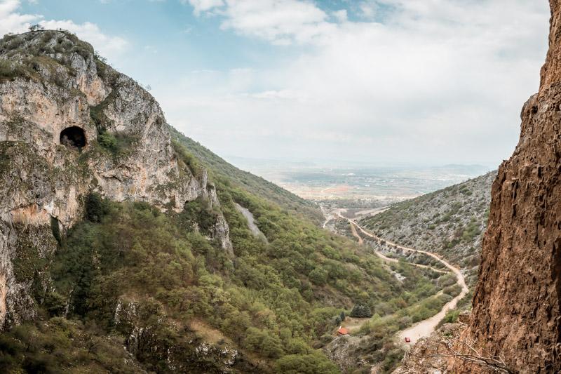agios nikolaos kremastos ausblick kastoria makedonien