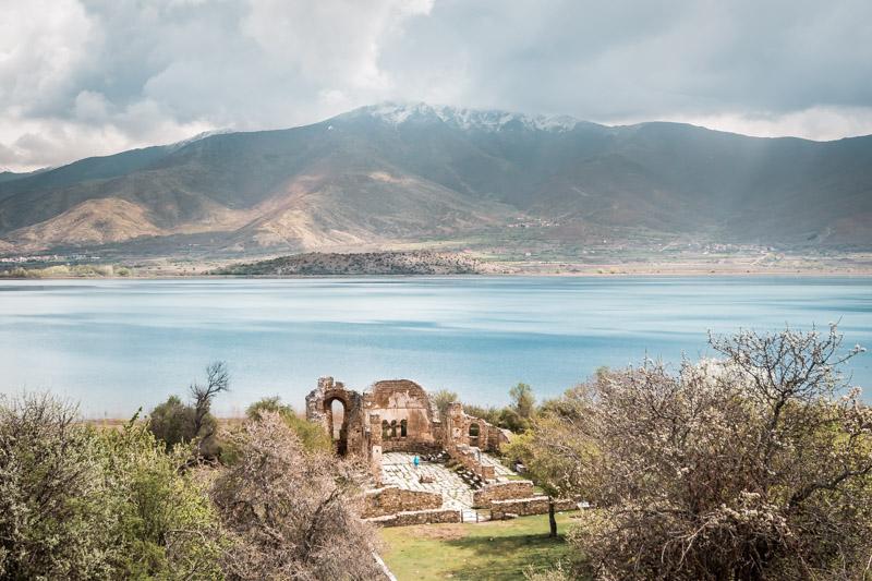 basilika agios achillios prespa makedonien