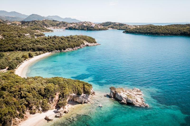 dei beaches syvota greece