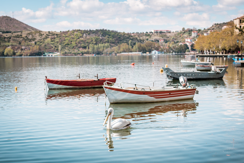 griechenland makedonien kastoria orestiada see