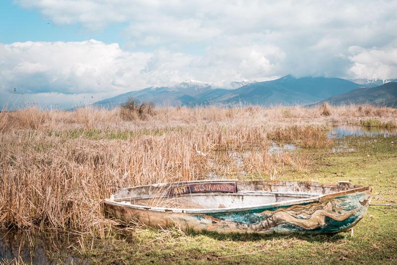 griechenland makedonien kleiner prespasee
