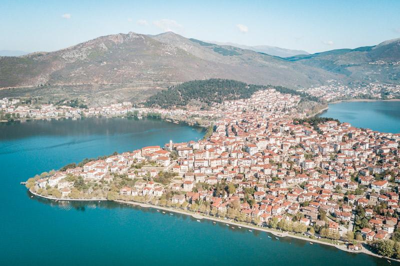 griechenland westmakedonien kastoria