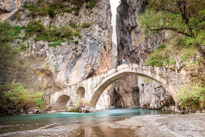 griechenland westmakedonien portitsa gorge
