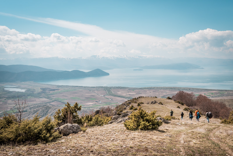 outdoor activities prespa lake macedonia greece