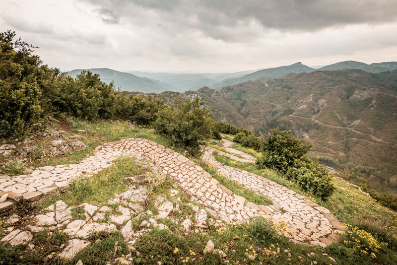 portitsa gorge wanderung griechenland westmakedonien
