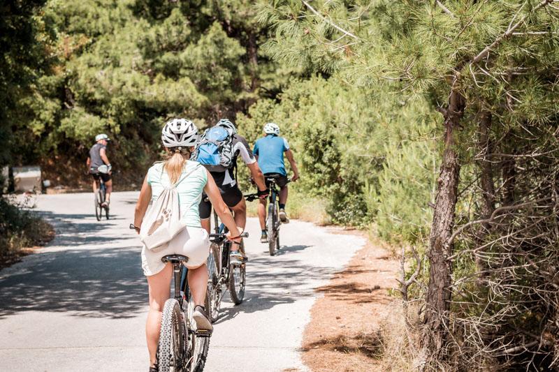 Aktivreisen Griechenland Mountainbike Touren Samos