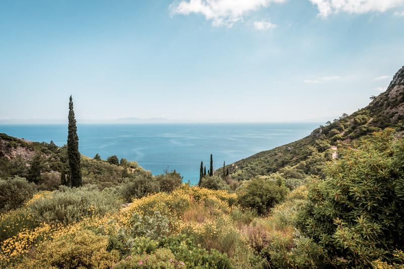 Griechenland Grüne Insel Samos