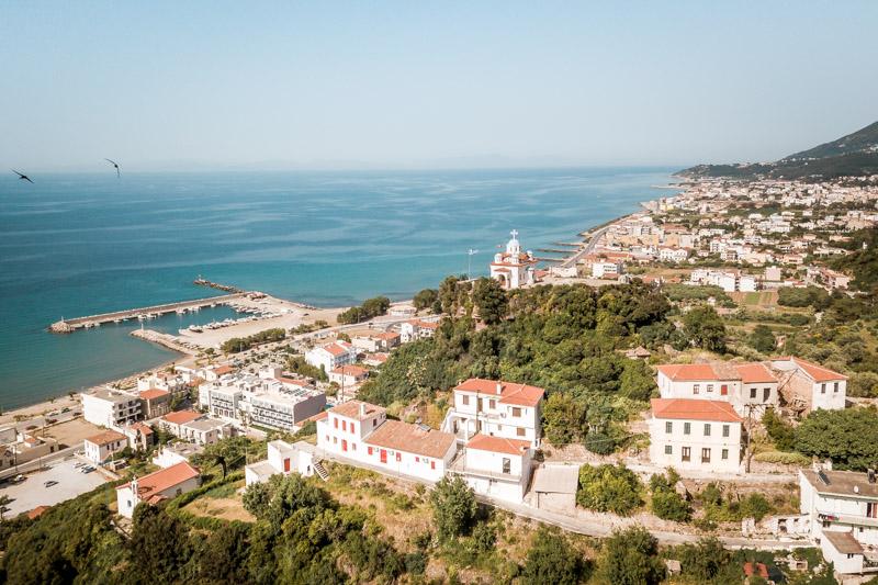 Insel Samos Karlovasi Sportreisen Griechenland