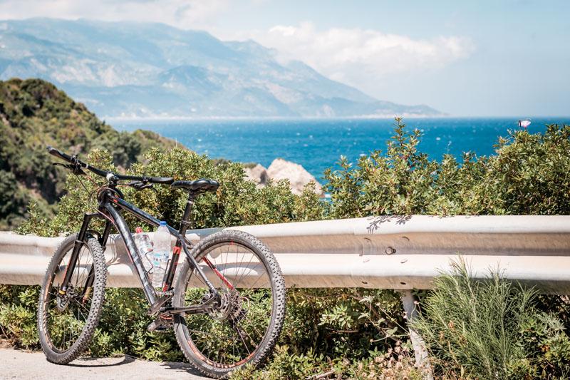Mountainbiken Griechenland Insel Touren
