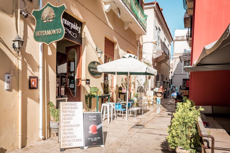 Nafplio Where to eat Pergamonto