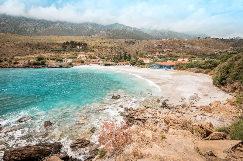 Peloponnes Rundreise Sehenswürdigkeiten Vata Beach Kotronas