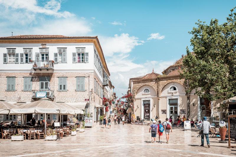 Platia Syntagmatos Nafplio Citytrip