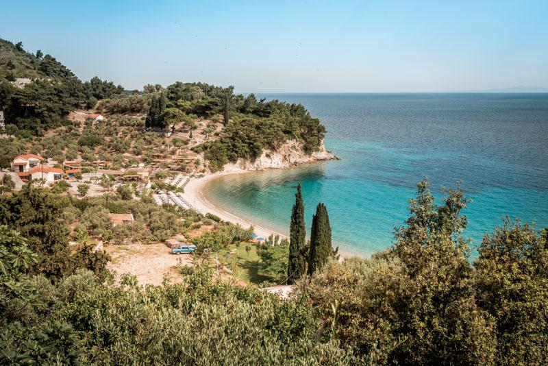 Samos Strände Kokkari Sportreisen Griechenland