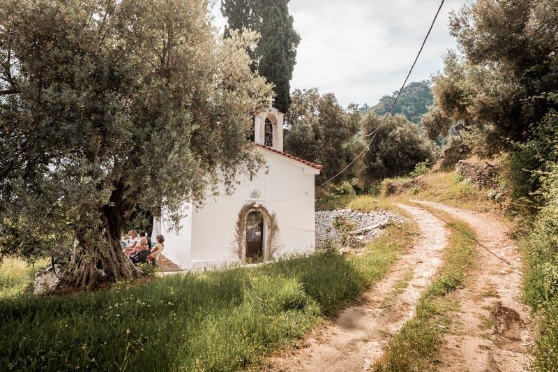 Wandern Griechenland Aktivurlaub Weiße Kirchen