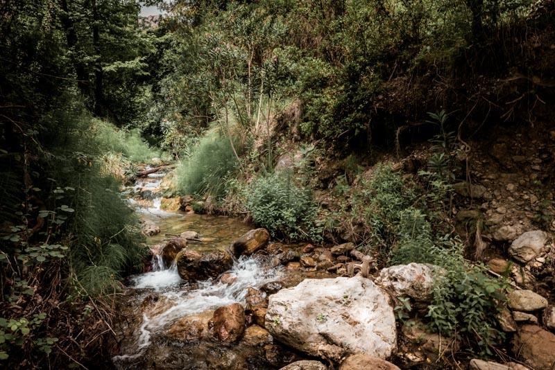 Wandern Griechenland Insel Samos Wasserfälle