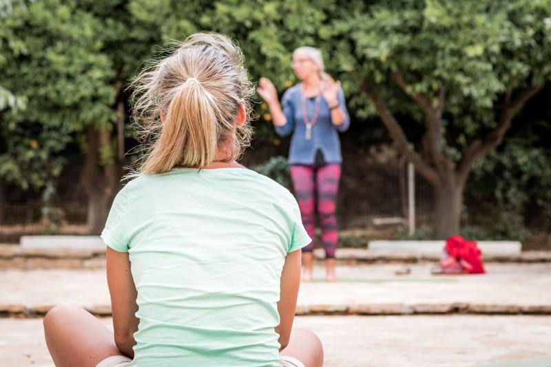 Yoga in Griechenland Insel Samos