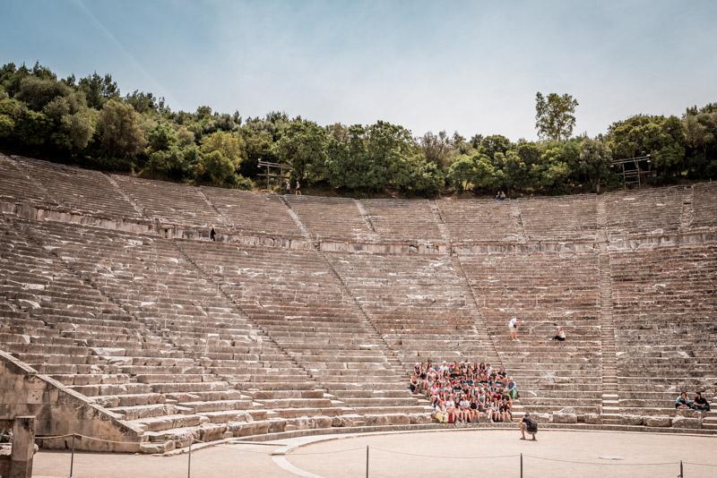amphitheater epidauros griechenland