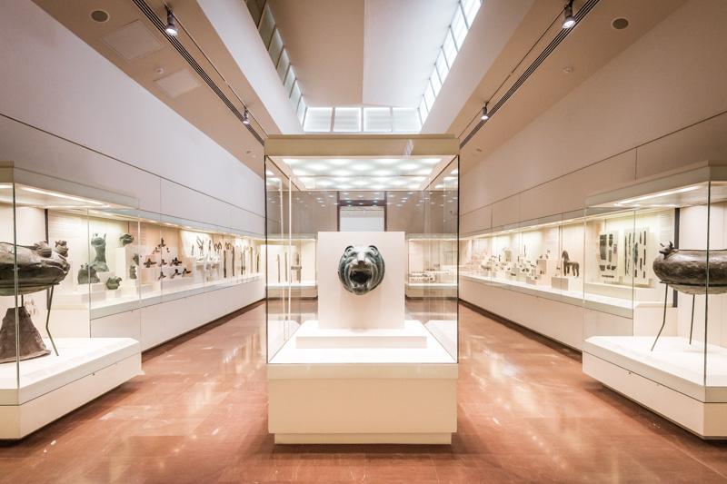 archäologisches museum olympia peloponnes