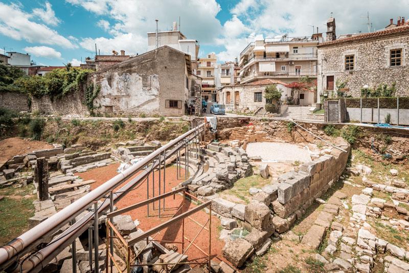 arta amphitheater griechenland epirus