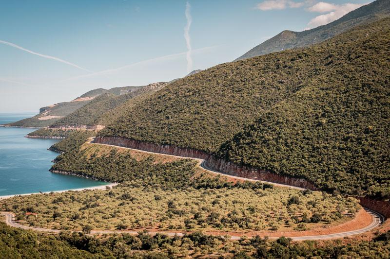 forgotten highway peloponnes griechenland