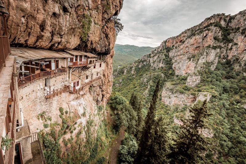 kloster prodromou arkadien