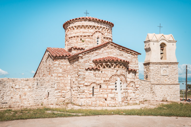 koronisia byzantinische kirche arta epirus