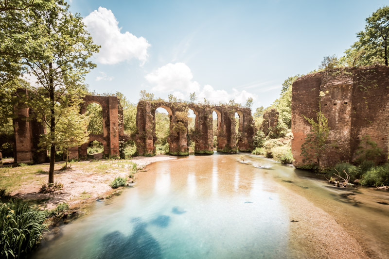 römisches aquädukt arta griechenland