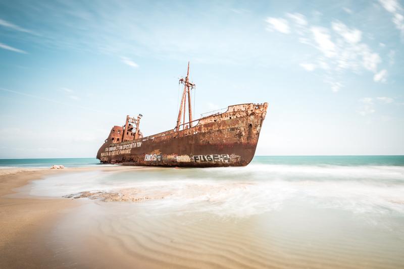 schiffswrack dimitrios shipwreck peloponnes