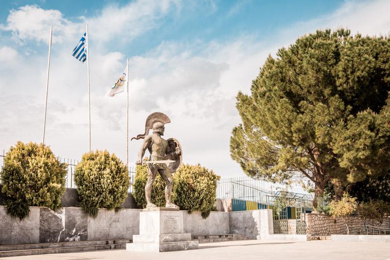 sparta leonidias griechenland