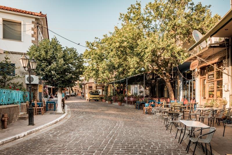 Lesvos agia paraskevi village