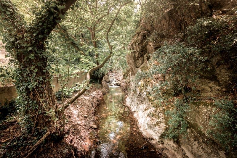 Lesvos sedounda valley plomari