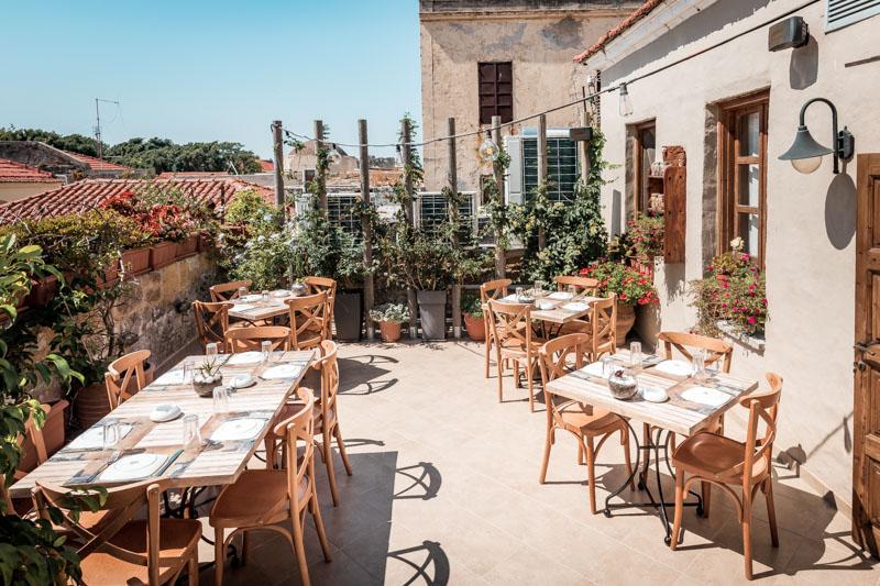 Rhodos Restaurant Empfehlung Altstadt