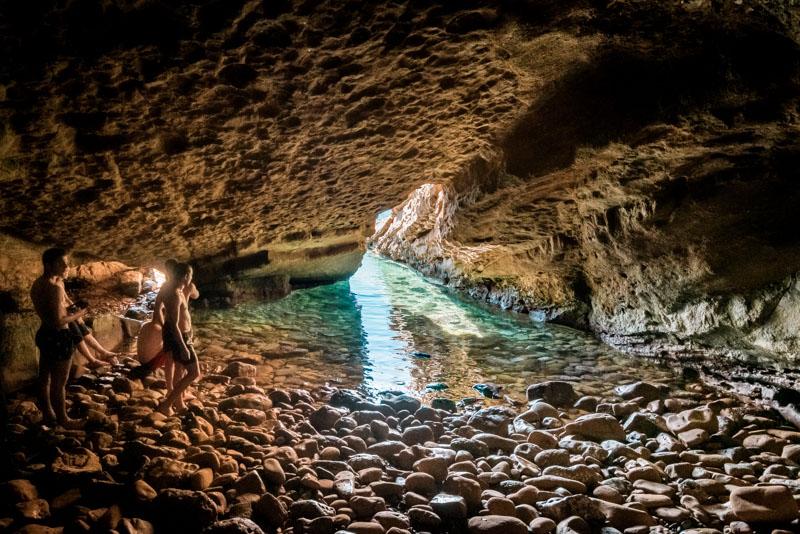 limnos ausflüge höhle philoktetes